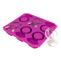 Kikkerland® Design Diamond Ring Ice Tray