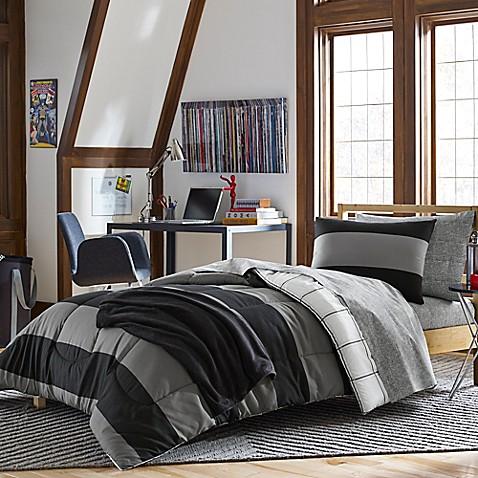 Bryce Bedding Kit In Black Bed Bath Amp Beyond