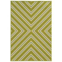 Oriental Weavers Riviera Criss Cross 7-Foot 10-Inch x 10-Foot 10-Inch Rug in Green