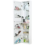 Door Solutions™ Over-the-Door Mirror and Cosmetic Organizer
