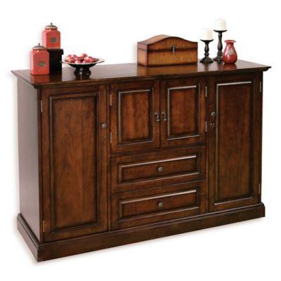 Howard Miller Bar Devino Wine U0026 Bar Cabinet In Americana Cherry