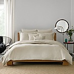 Real Simple® Lattice King Duvet Cover in Stone