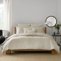 Real Simple® Lattice Twin Duvet Cover in Stone