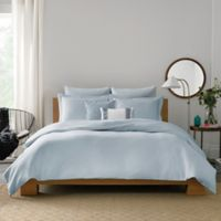 Real Simple® Lattice King Duvet Cover in Blue