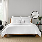 Real Simple® Lattice King Duvet Cover in White