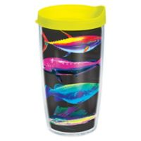 Tervis® The Salt Life Neon Fish 16 oz. Wrap Tumbler with Lid
