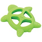 Bumkins® Silicone Turtle Teether in Green