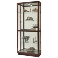 Howard Miller Jayden Two-Way Sliding Door Curio in Espresso