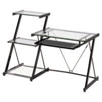 Z-Line Designs Nero Desk and Bookcase