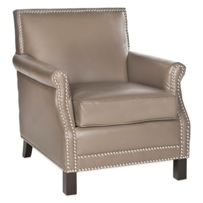 Buy Safavieh Easton Club Chair In Red Tan Stripe From Bed