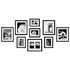 Swing Design™ 9-Piece Frame Gallery in Walnut