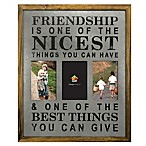Marrone 3-Photo  Friendship  Collage Frame