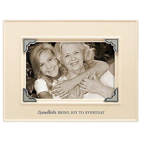 Grasslands Road® 4-Inch x 6-Inch Grandkids Sentiment Photo Frame in ...