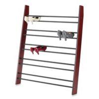 Whitmor 5-Tier Wood Shoe Ladder in Brown