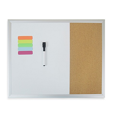 image of Magnetic Dry Erase Combo Board