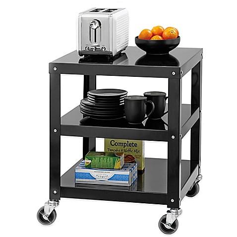 Studio 3B™ Appliance Cart in Black - Bed Bath & Beyond