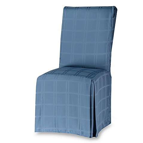 Origins Microfiber Dining Room Chair Cover In Denim Bed
