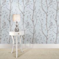 WallPops!® NuWallpaper™ Woods Peel & Stick Wallpaper in Blue