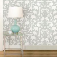 WallPops!® NuWallpaper™ It's A Jungle Peel & Stick Wallpaper in Grey