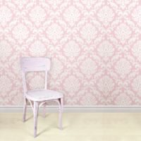 WallPops!® NuWallpaper™ Ariel Peel & Stick Wallpaper in Pink