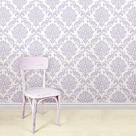 Wallpops Nuwallpaper Ariel Peel Stick Wallpaper In
