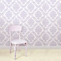 WallPops!® NuWallpaper™ Ariel Peel & Stick Wallpaper in Purple