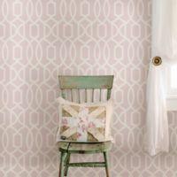 WallPops!® NuWallpaper™ Grand Trellis Peel & Stick Wallpaper in Pink