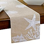 Shore Shells 70-Inch Table Runner