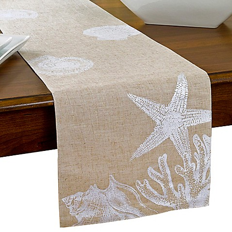 Shore Shells Table Runner Bed Bath Amp Beyond