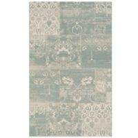 Couristan® Afuera Country Cottage 6-Foot 6-Inch x 9-Foot 6-Inch Indoor/Outdoor Rug in Sea Mist