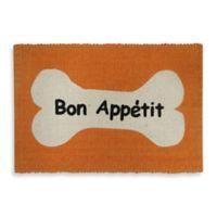 Park B. Smith Bone Appetit Pet Mat in Orange