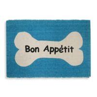 Park B. Smith Bone Appetit Pet Mat in Tropical Blue