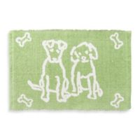 Park B. Smith Dog Friends Pet Mat in Lime