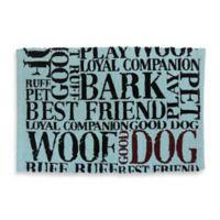 Park B. Smith Good Dog Pet Mat in Aquamarine
