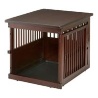 Richell Medium Wooden End Table Crate