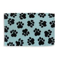 Park B. Smith World Paws Pet Mat in Aqua/Black