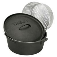Bayou Classic® 8.5-Quart Cast Iron Dutch Oven with Lid