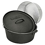 Bayou Classic® 20-Quart Cast Iron Dutch Oven with Lid