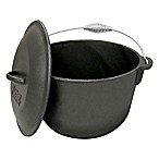Bayou Classic® Cast Iron 6-Quart Covered Soup Pot