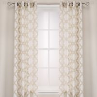Admiral Penby 84-Inch Grommet Window Curtain Panels in Champagne