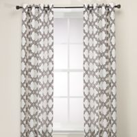 Admiral Penby 84-Inch Grommet Window Curtain Panels in Chocolate