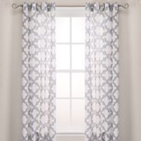 Admiral Penby 96-Inch Grommet Window Curtain Panels in Blue
