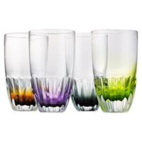 Artland® Solar Highball Glasses in Assorted Colors (Set of 4)