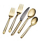 Towle® Living Wave Gold 20-Piece Flatware Set