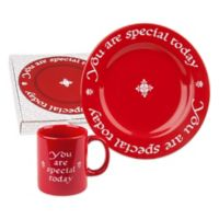 """Waechtersbach """"You Are Special Today"""" Mug and Plate Set"""