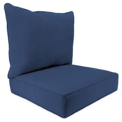 Etonnant 24 Inch X 24 Inch 2 Piece Deep Seat Chair Cushion In Sunbrella