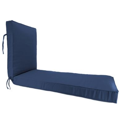 80-Inch x 23-Inch Chaise Lounge Cushion in Sunbrella® Canvas Navy  sc 1 st  Bed Bath u0026 Beyond : navy blue chaise lounge - Sectionals, Sofas & Couches