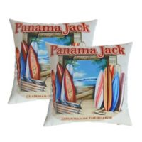 Panama Jack Chairman of the Boards Outdoor Throw Pillows (Set of 2)