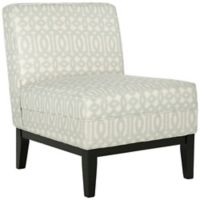 Safavieh Armond Chair in Silver/Cream