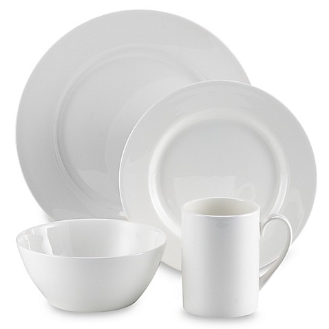 Tabletops Unlimited® Cascade Bone China 16-Piece Dinnerware Set  sc 1 st  Bed Bath \u0026 Beyond & Tabletops Unlimited® Cascade Bone China 16-Piece Dinnerware Set ...